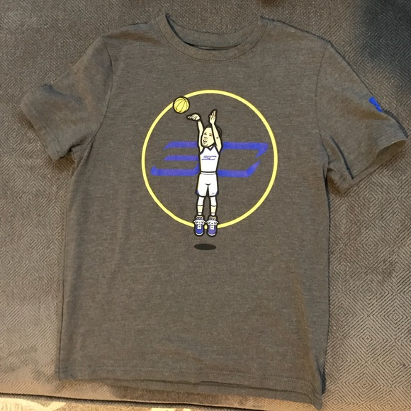 a42046b88 Under Armour Shirts & Tops | Boys Steph Curry Ua Tshirt | Poshmark